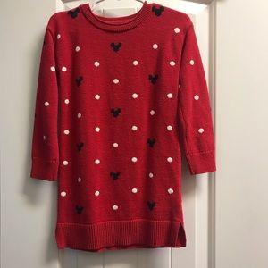 Baby Gap Disney Minnie Mouse sweater dress
